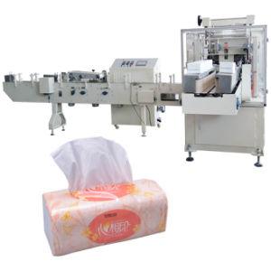 Pañuelo de papel tejido enrollado de maquinaria de embalaje sellado