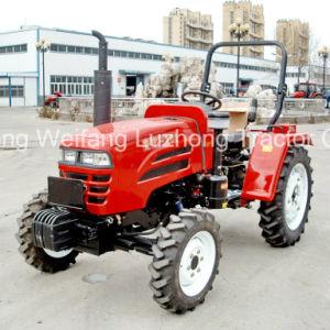 China proveedores Luzhong 254 4x4 ruedas Mini Tractor agrícola Traktor para la venta caliente