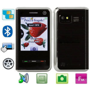 H710 With Bluetooth FM Function Touch Screen Phone