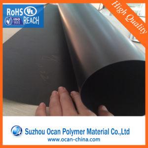 中国の卸売冷却塔の詰物のためのロールの300ミクロンの黒PVCプラスチックシート