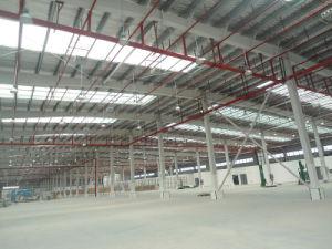 大きいスパンの前設計された鉄骨構造の倉庫