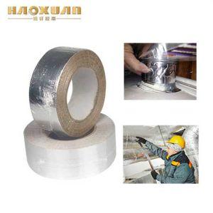 十字によって編まれるアルミニウム耐熱性ホイルガラスファブリックテープ