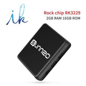 Sunnzo G9 androider intelligenter Fernsehapparat-Prokasten mit Felsen-Chip Rk3229 2GB RAM/16GB ROM-Support 4K 1080P, 2.4GHz WiFi