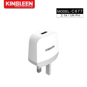 Настенное зарядное устройство USB 5V/2.1A универсальный портативный адаптер питания для Великобритании дорожное зарядное устройство разъем адаптера переменного тока