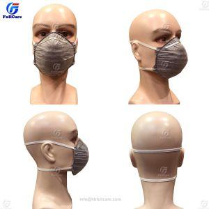 使い捨て可能なNonwoven/PP/Asbestos/N95/Ffp3/の化学薬品または呼吸するか、または花粉または安全または微粒子またはガスまたはペンキフィルターか保護か鉱山か木工業または塵または表面またはマスクまたはマスク
