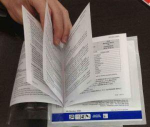 豪華なCustomziedのアートペーパーカスタムカタログの印刷の製品マニュアル
