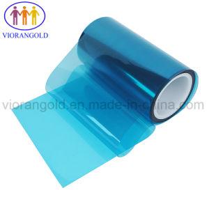 保護フィルムの裏付けのためのシリコーン油が付いている25um/36um/50um/75um/100um/125umの透過か青いペットはく離ライナー