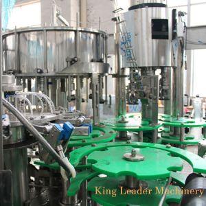 El aluminio puede automático el jugo de fruta / agua de coco / helado de café Máquina de Llenado