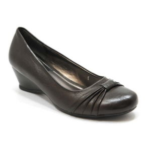 Les femmes du talon du coin bureau Chaussures avec PU Upper