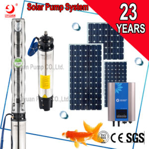 Pompa ad acqua di agricoltura pollici di 4 e di 3 pollici, una pompa elettrico-solare da 60 hertz