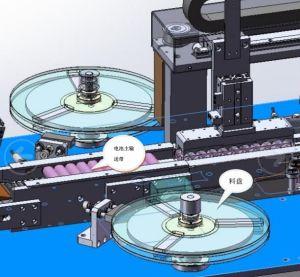 Автоматическая короткого замыкания бумажную наклейку. Тестирование. Точечная сварка машины