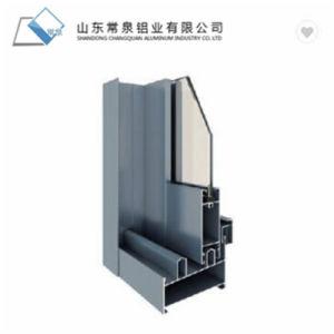 Perfiles de aluminio para la ventana y puerta.