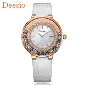 Silver Watch mujer elegantes señoras Diamante Pulsera de colores modernos relojes de cuarzo