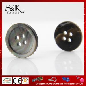 Klassieke Manier Natuurlijke Button Black M.O.P. Shell Button voor Overhemden