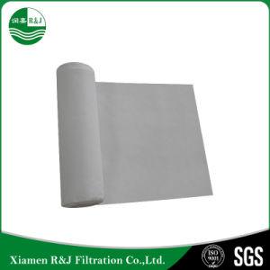 Filtro de PTFE não tecido perfurado de agulha pano para o incinerador de resíduos