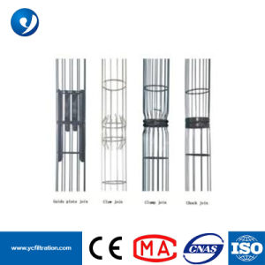 Colector de Polvo industriales Fabricante de jaulas de filtro de mangas con venturi