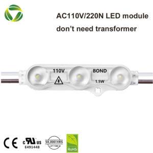 Modulo impermeabile dell'iniezione di SMD 2835 LED IP68 per il segno