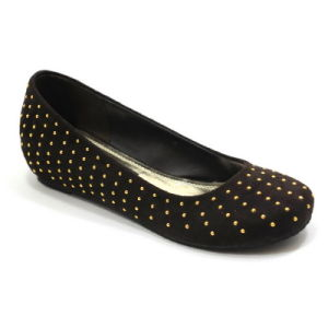 Les femmes d'Ongles ballerine plate supérieure Mesdames fille chaussures occasionnel