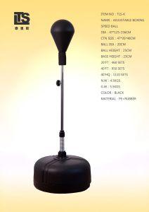Espuma de uretano velocidade de Boxe Punchball ajustável com a mola para o formador
