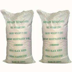 Benzoate Van uitstekende kwaliteit van het Natrium van de Rang van het voedsel Bewarende van Fabriek