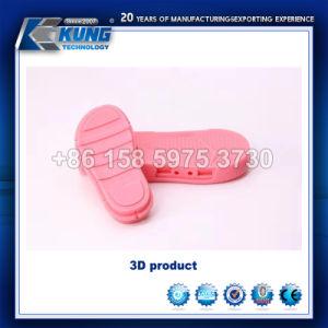 Demo de producto falso 3D El diseñador de Disigner impresora 3D.