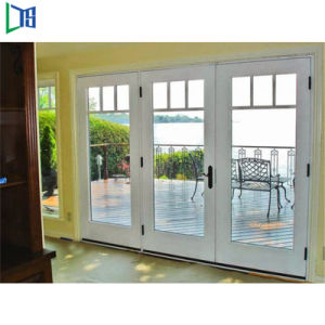 熱販売の価格のフォーシャンでなされるアルミニウムフランスの開き窓のドアの振動ドア