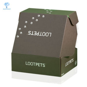 Carton cadeau personnalisé chiffon de papier d'expédition de chaussures Boîte en carton ondulé