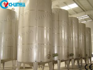 Água em aço inoxidável de líquido do tanque de armazenamento móvel