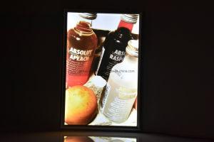 表示携帯用LED細いライトボックスの表示の広告