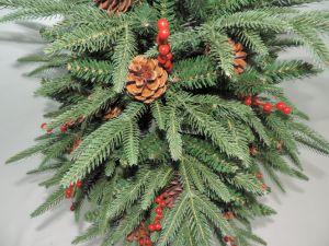 albero artificiale della decorazione della casa di natale di 120cm PE/PVC