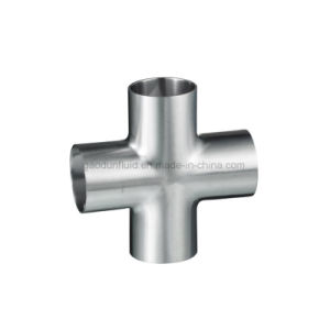 Het sanitaire Kruis van het Lassen van het Roestvrij staal