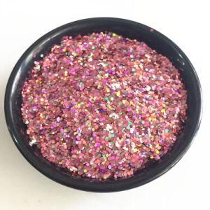 Garment Accessories /Arts를 위한 애완 동물 Hexagon Glitter 및 Crafts 또는 Decoration/Painting/Textile /Screen Printing /Oil Painting /Glitter Paper/Glitter Candle