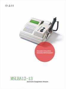 2018 Nuevo precio más barato Semi-Auto analizador portátil de la coagulación sanguínea Mslba12