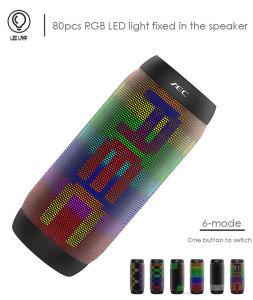 LED Mini chargeur portable sans fil haut-parleur Bluetooth de son et lumière