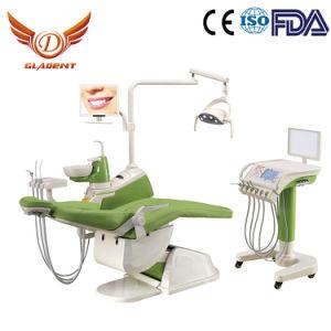 Partie intégrante fauteuil dentaire de l'unité, portable, matériel dentaire Dental Prix unitaire avec chariot mobile, unité de traitement dentaire