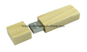 Carcasa de madera unidad Flash USB (W701)