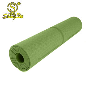Moda Fitness Sport Imprimir Eco-Friendly Tapete de Yoga TPE