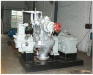 중국은 750kw-1500kw에게 단 하나 층 배압 증기 터빈을 만들었다