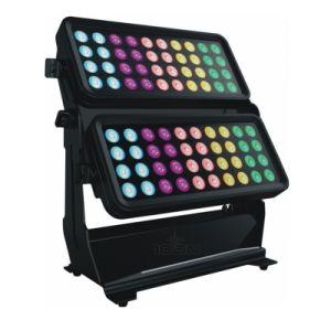 LED 도시 색깔 벽 세탁기 IP65 80X12W 조경 빛