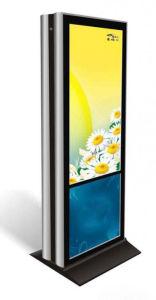 49 pulgadas con pantalla táctil con Android en el interior de la Publicidad Digital Signage Quiosco de LCD con pantalla personalizada USB y HDMI.