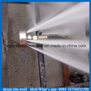 Sistema ad alta pressione di pulizia del tubo per fognatura di pulizia della rondella grande della macchina