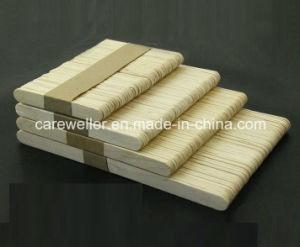 Depressor de língua de madeira de vidoeiro descartable medicinal / Depressor de língua de madeira