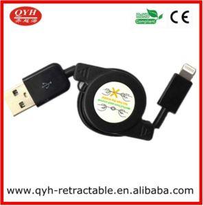 8 штифт синхронизации данных USB складной кабель для зарядки для iPhone 5 iPad mini iPod (QYH-UC917)