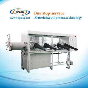 La doble Guantera de vacío de acero inoxidable con sistema de purificación de gas y Control Digital, Vgb-10-II