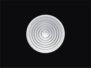 Алюминиевый Круглый потолочный диффузор (КОД-ва)