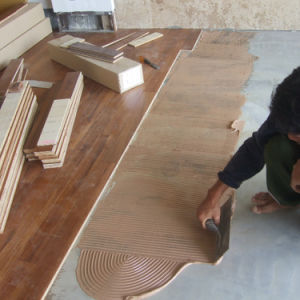 Adesivo di legno scorrente facile dell'unità di elaborazione della pavimentazione (poliuretano) (Surtek 3546)