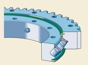 21/950 230.20.0800.503 (Тип.0) Rothe Erde шаровой шарнир поворотного кольца подшипников