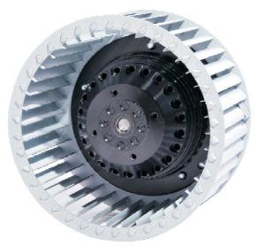 180mm/200mm por delante de los motores del ventilador centrífugo