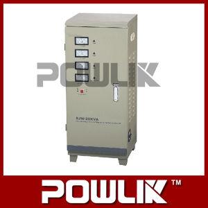 Sjw Trifásica Full-Automatic de alta precisão do estabilizador de voltagem AC (SJW-20kVA)