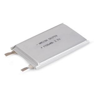 503759 batteria ricaricabile del Li-Polimero del litio di 1200mAh 3.7V